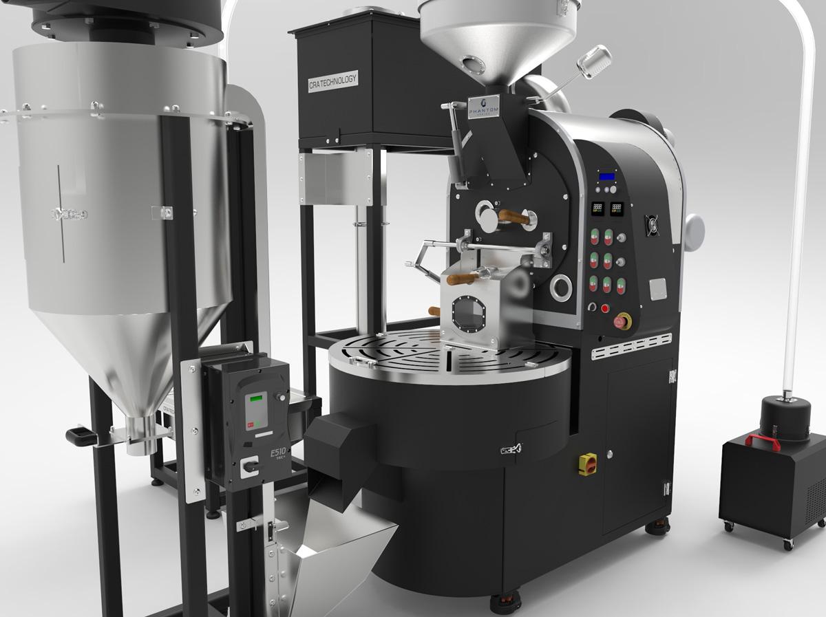 Phantom Series 22kg Full Line Coffee Roaster